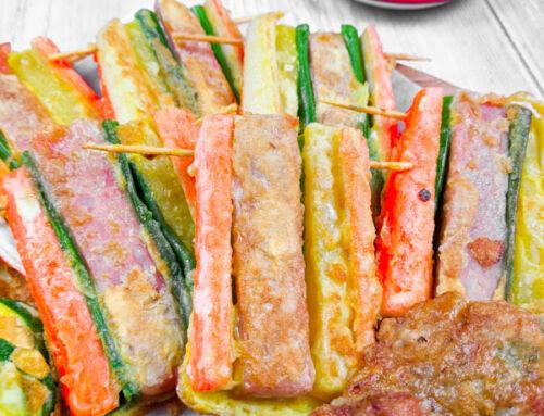 Kkochi Jeon / Brochette panée coréenne / 꼬치전