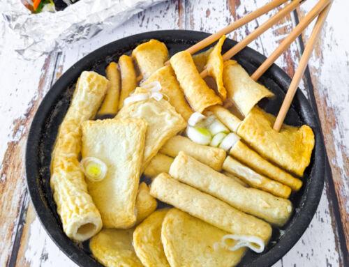 Eomuktang / Bouillon de gâteaux de poisson / 어묵탕