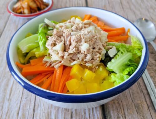 Bibimbap au thon / Chamchi Bibimbap / 참치비빔밥