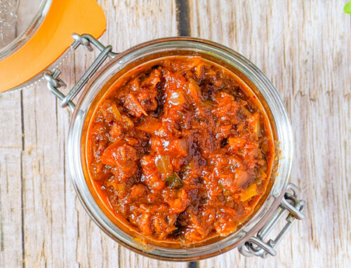 Chamchi Ssamjang / Sauce ssamjang au thon / 참치쌈장