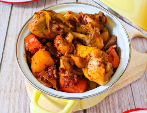 Dakdoritang / Ragoût de poulet piquant / 닭도리탕