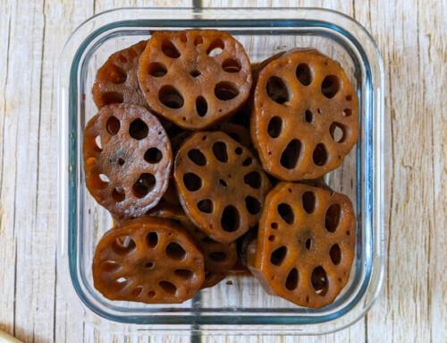 Yeongeun Jorim / Racines de lotus braisées / 연근조림
