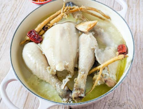 Samgyetang / Soupe de poulet au ginseng / 삼계탕