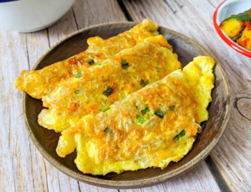 Busan Dalgyal Mandu / Raviolis à l'œuf de Busan / 부산달걀만두