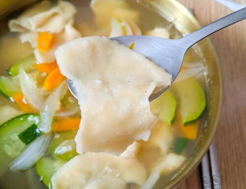 Sujebi / Soupe de pâtes déchirée à la main / 수제비